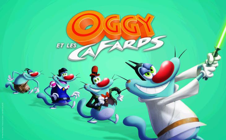 Coloriage oggy et les cafards et dessin imprimer - Jeux de oggy et les cafards gratuit ...