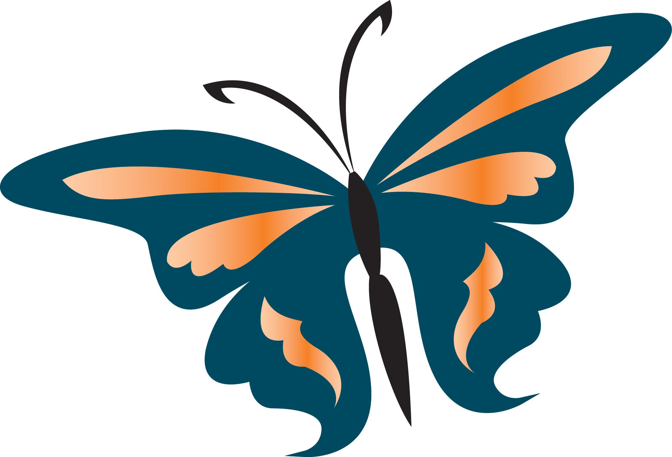 Dessin papillon simple imprimer - Papillon facile a dessiner ...