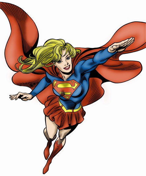 Supergirl heroine
