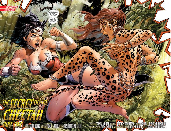 Wonder Woman et Cheetah