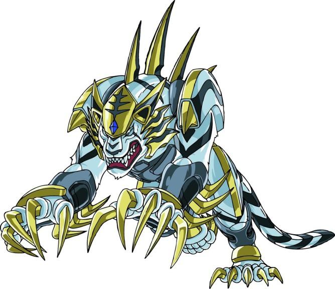 Bakugan Tigrerra