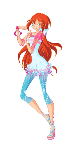 Bloom Winx fashion