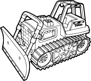 Bulldozer dessin