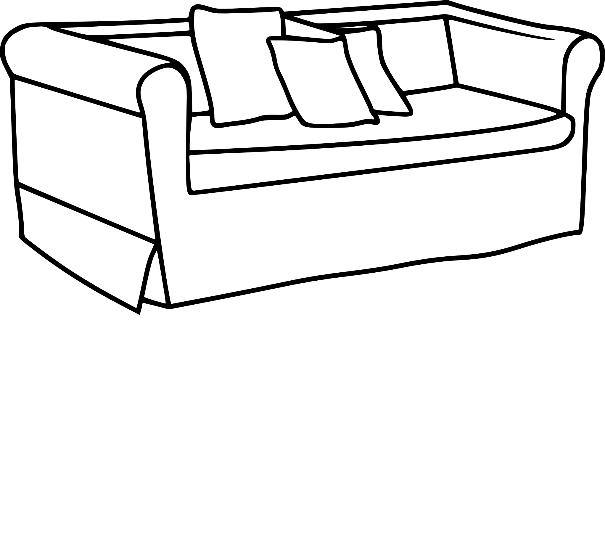 coloriage canap et dessin imprimer. Black Bedroom Furniture Sets. Home Design Ideas