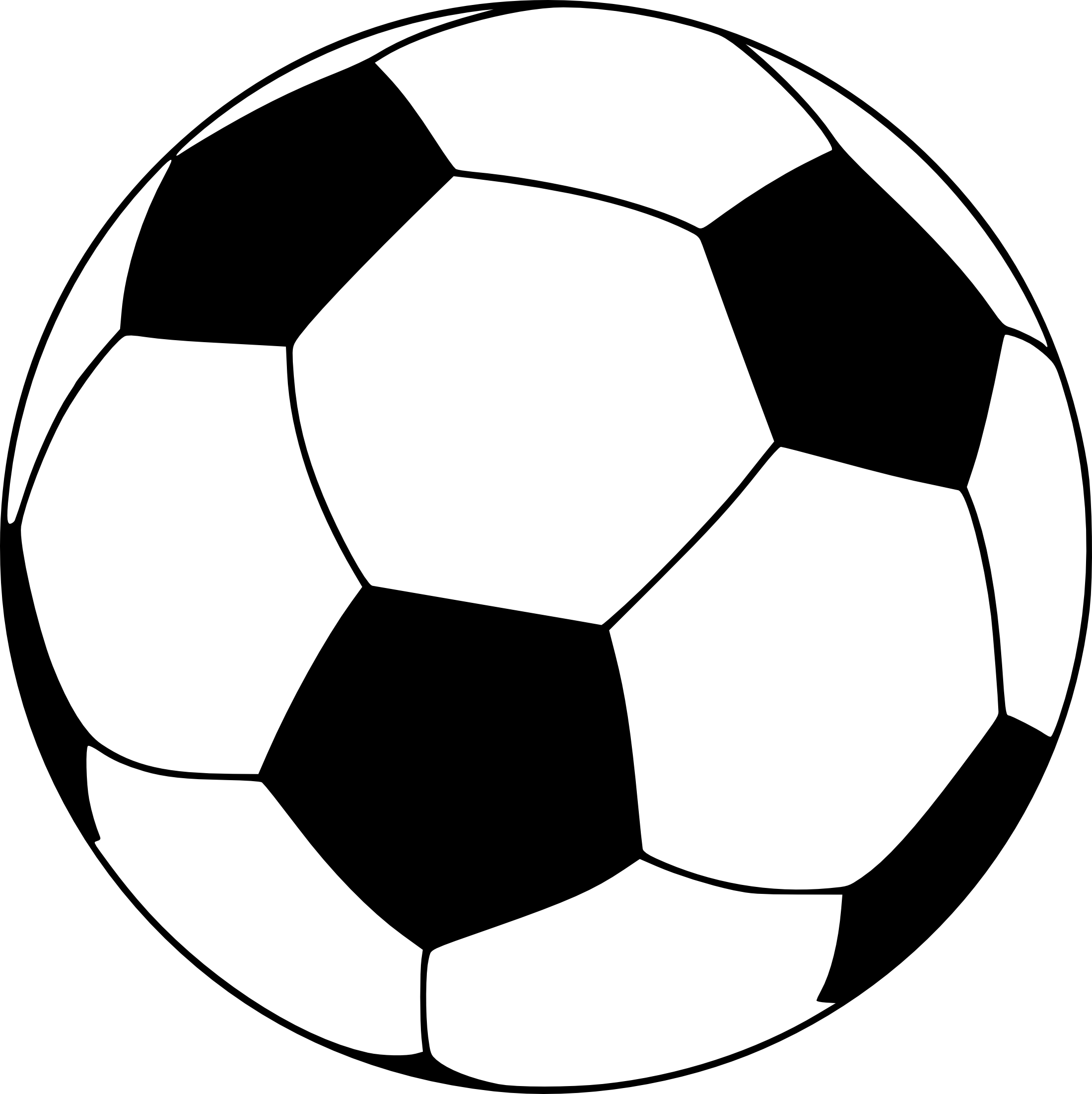 coloriage ballon de football