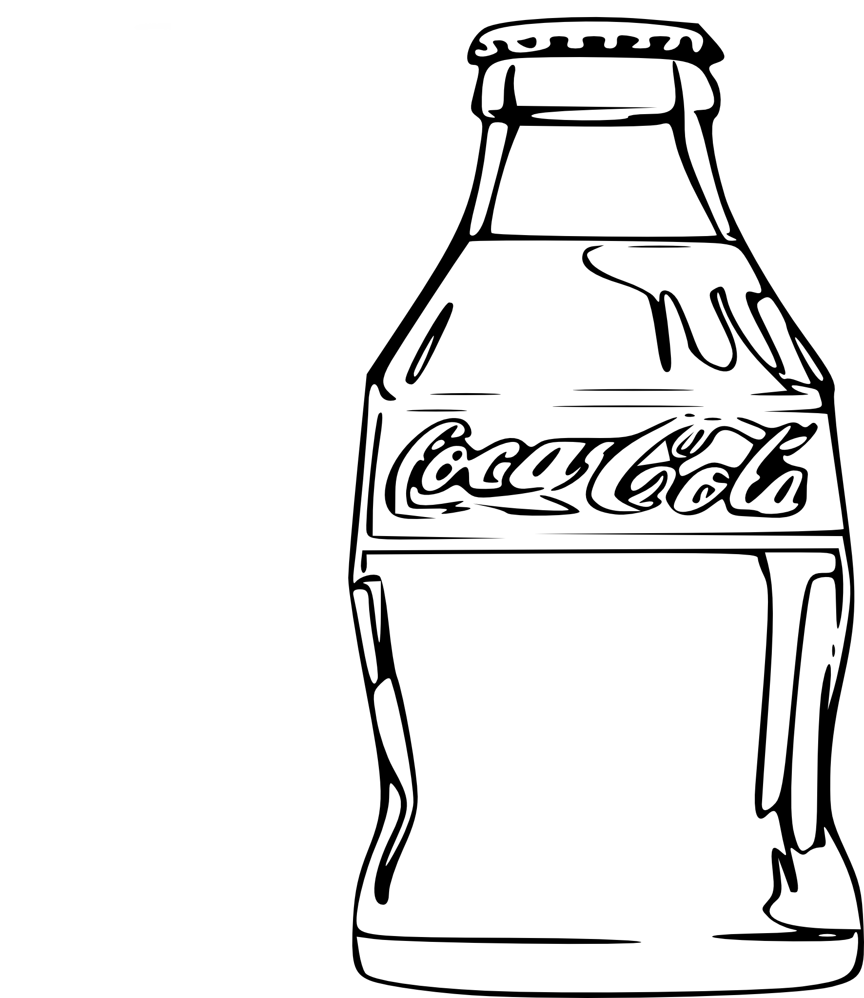 bouteille coca noel