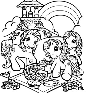Coloriage Bratz Poney