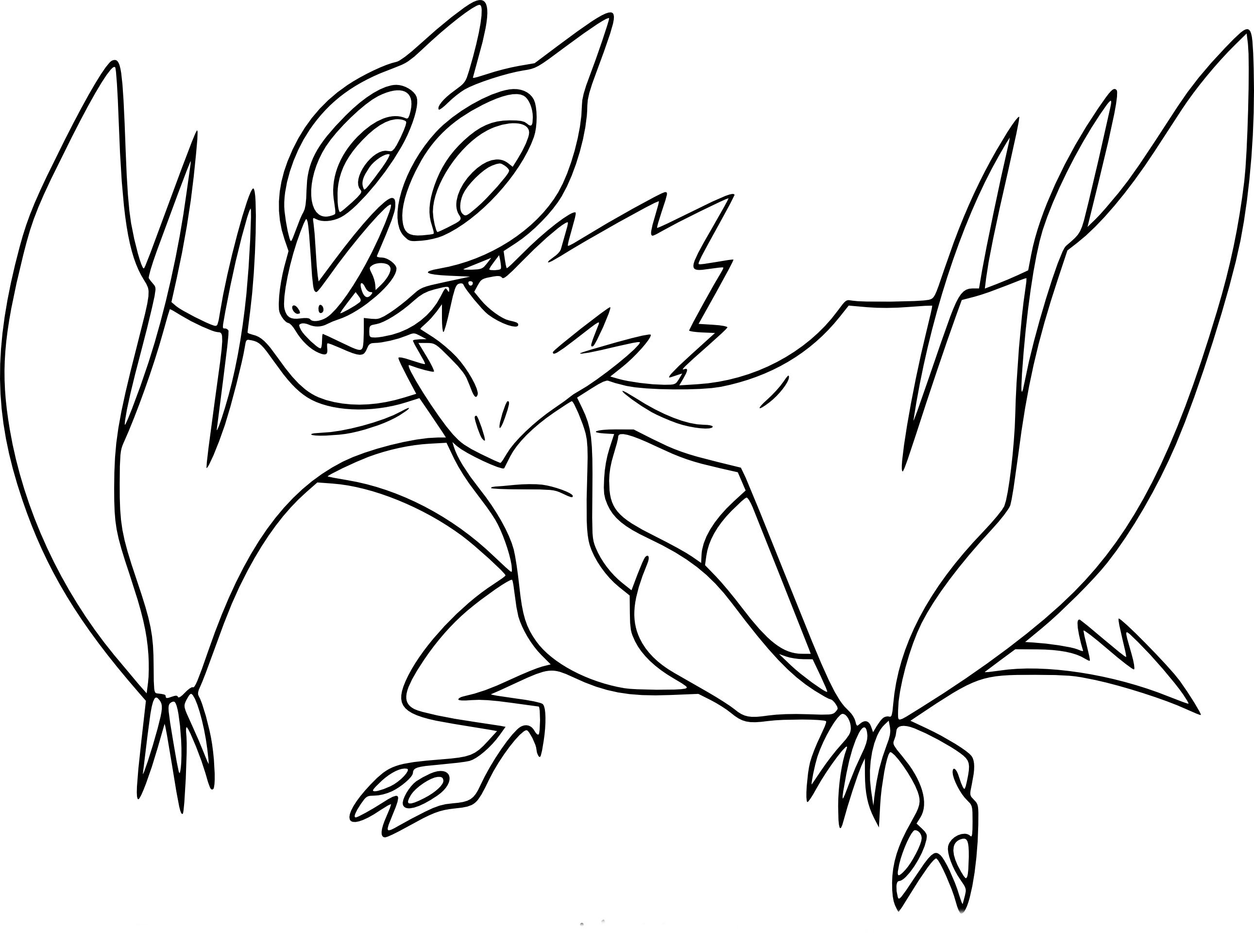 pokemon luxio coloring pages - photo#21