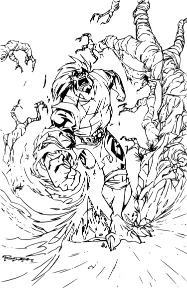 Coloriage Chaotic