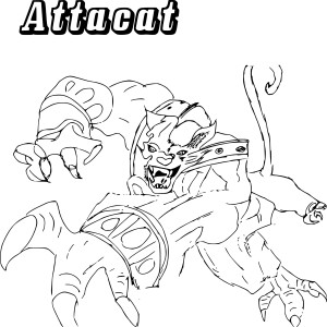 Coloriage Chaotic Attacat