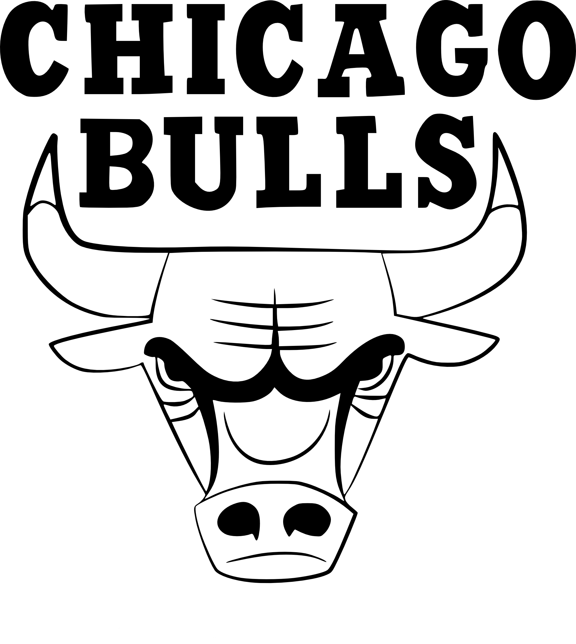 Coloriage Chicago Bulls