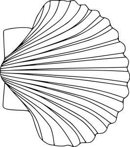 Coloriage vent qui souffle imprimer - Coquille saint jacques dessin ...