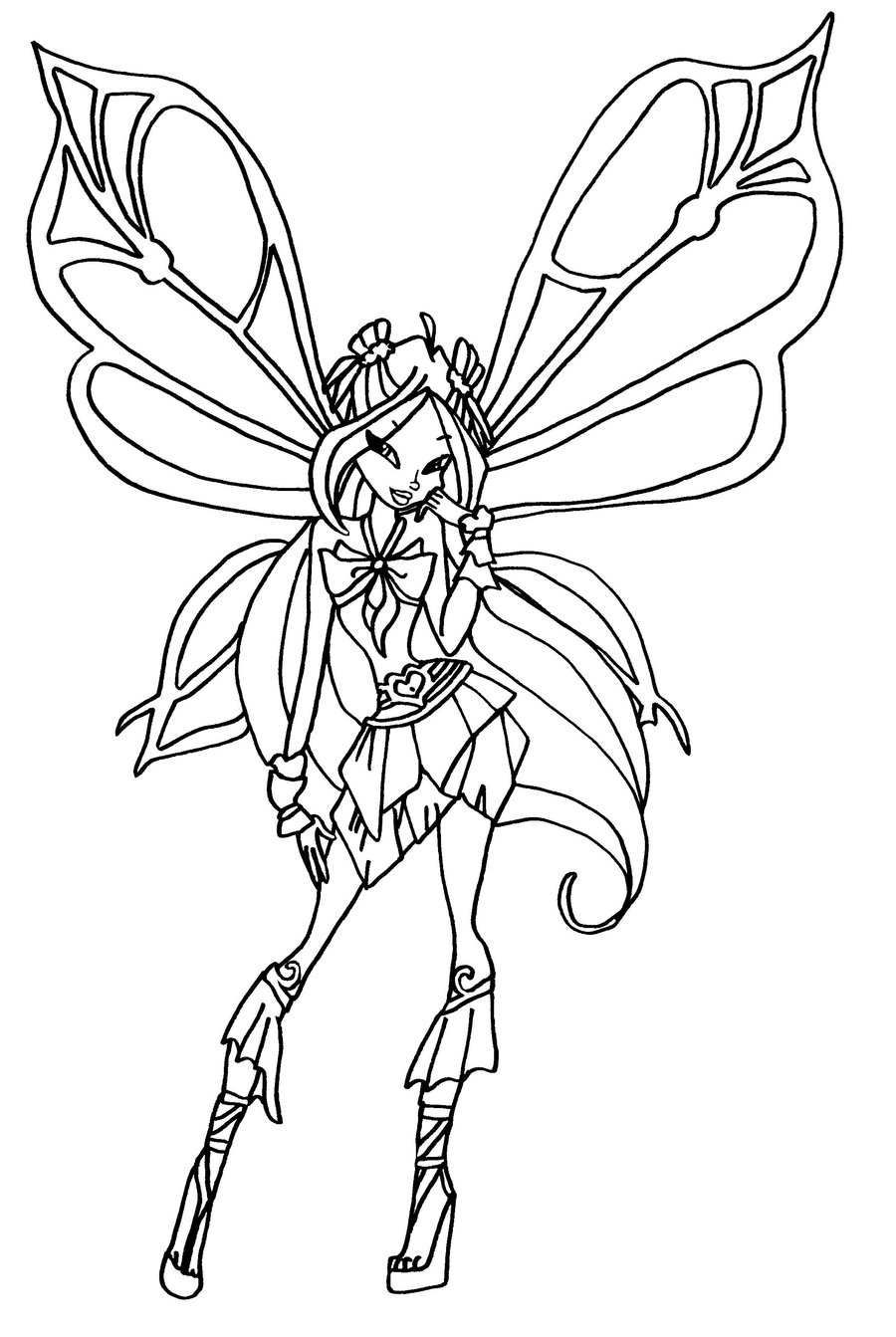 winx club coloring pages lovix - photo#15