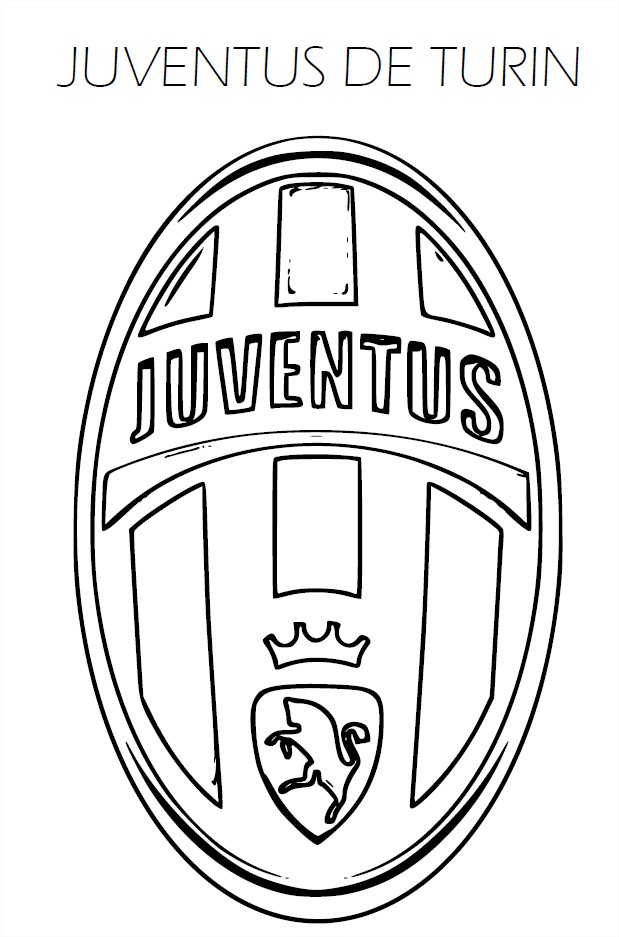 Coloriage Juventus de Turin