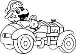 Coloriage Mario Kart 7