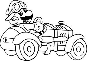 Coloriage Mario et Sonic à imprimer