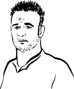 Coloriage Mathieu Valbuena