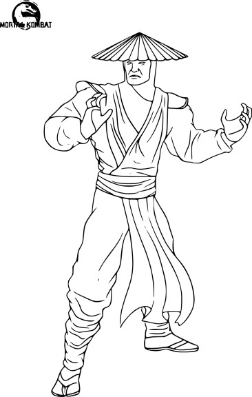 Coloriage Mortal Kombat