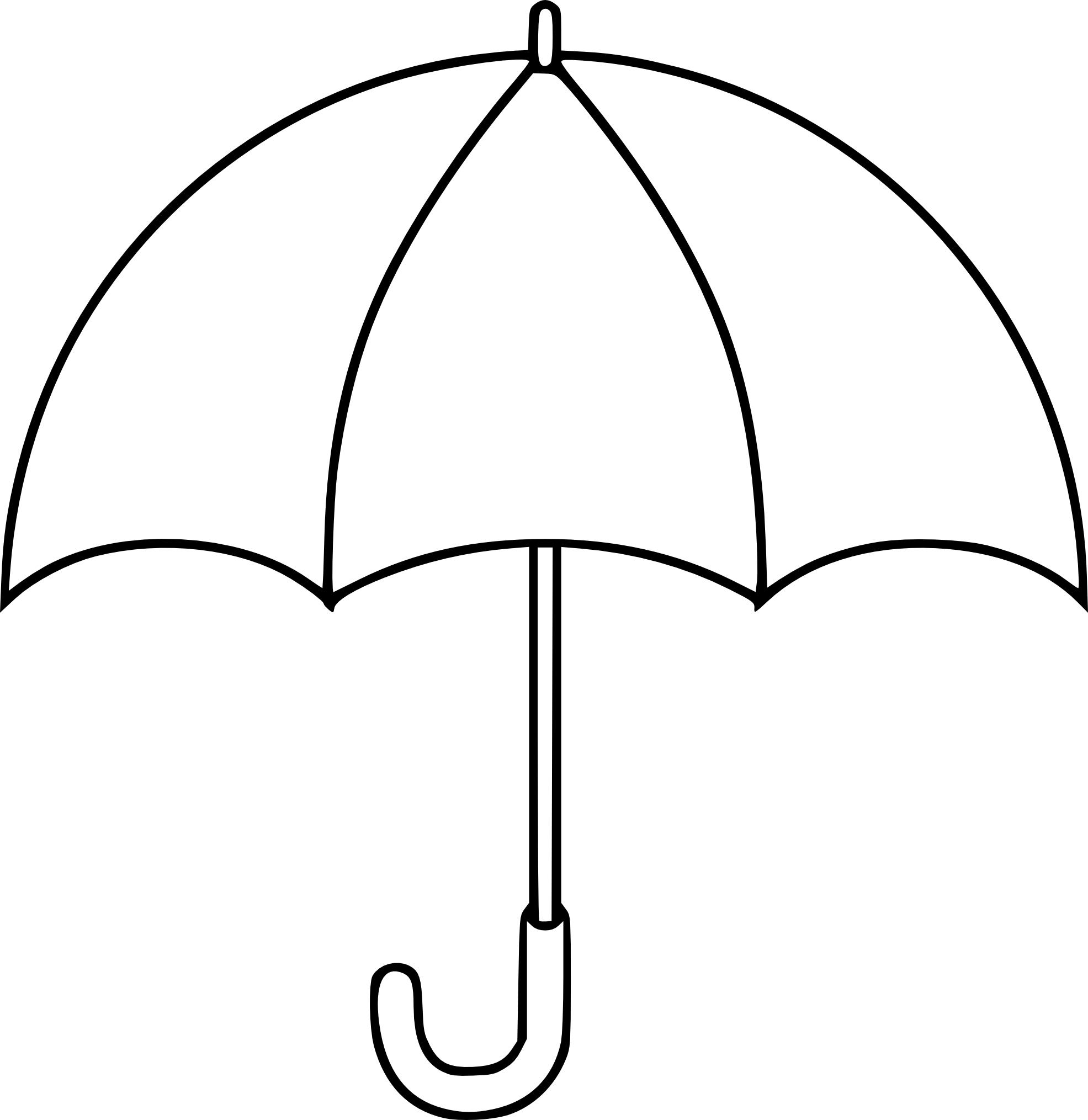 Coloriage Parapluie 224 Imprimer