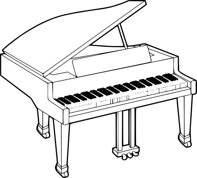 Coloriage piano imprimer - Coloriage piano ...