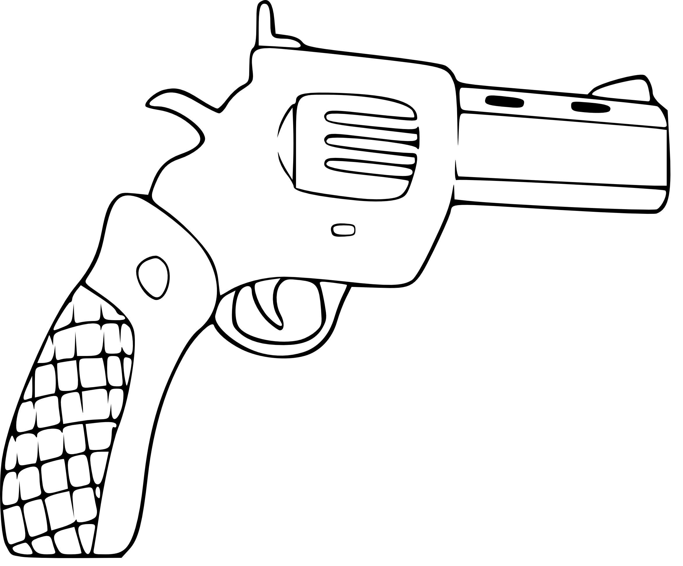 Coloriage Pistolet 224 Imprimer