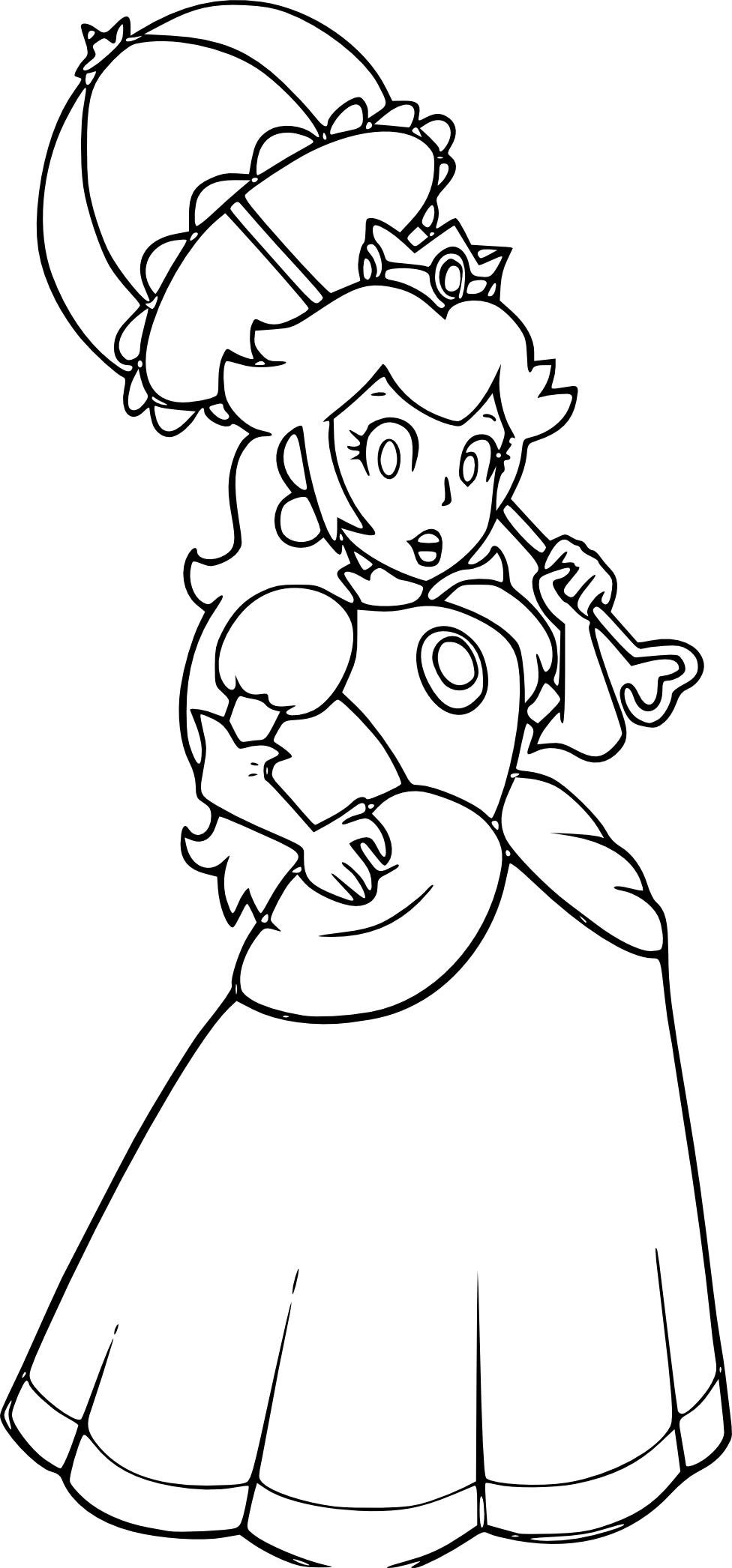 Coloriage princesse Harmonie