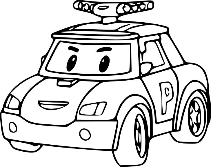 Coloriage robocar poli imprimer - Cars a colorier et a imprimer ...