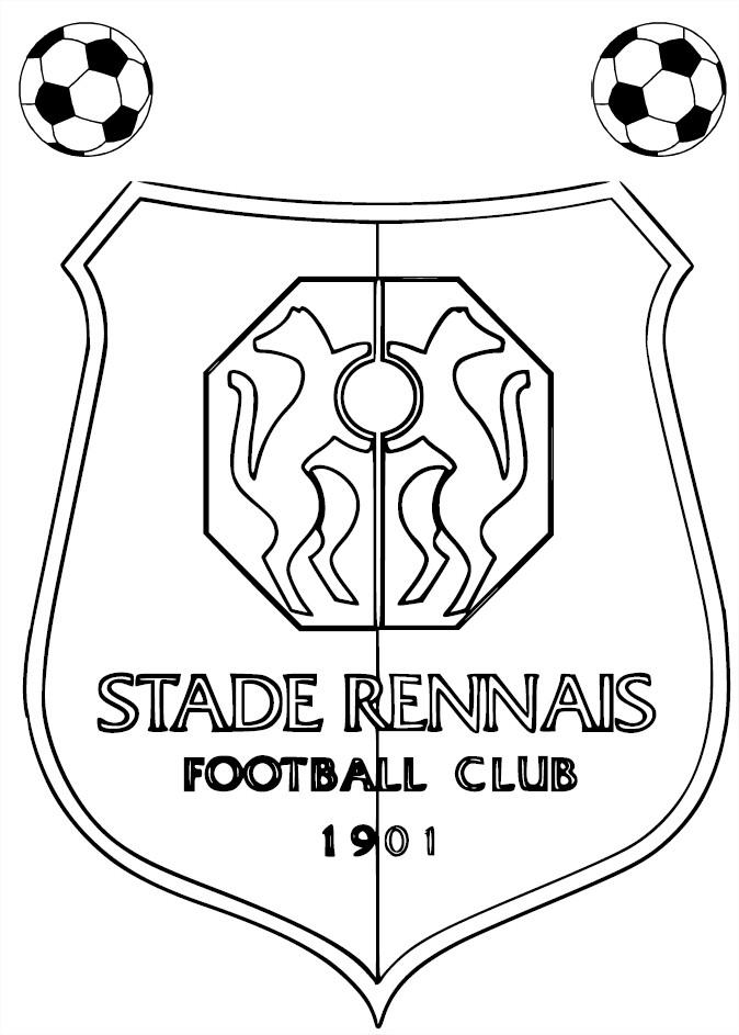 Coloriage Stade Rennais