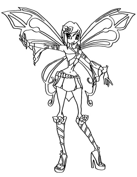 winx club coloring pages lovix - photo#20