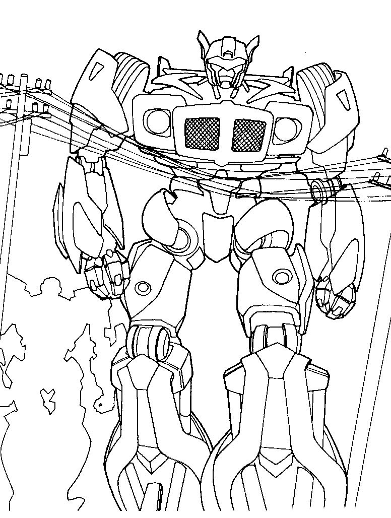 Coloriage Transformers 4