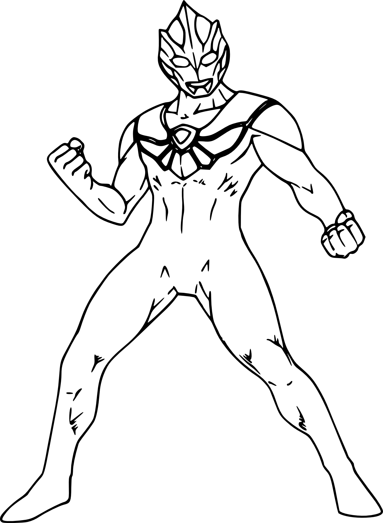 Coloriage ultraman