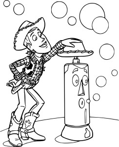 Coloriage Woody Toy Story 3