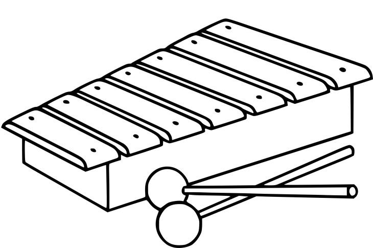 Glockenspiel Coloring Pages Sketch Coloring Page