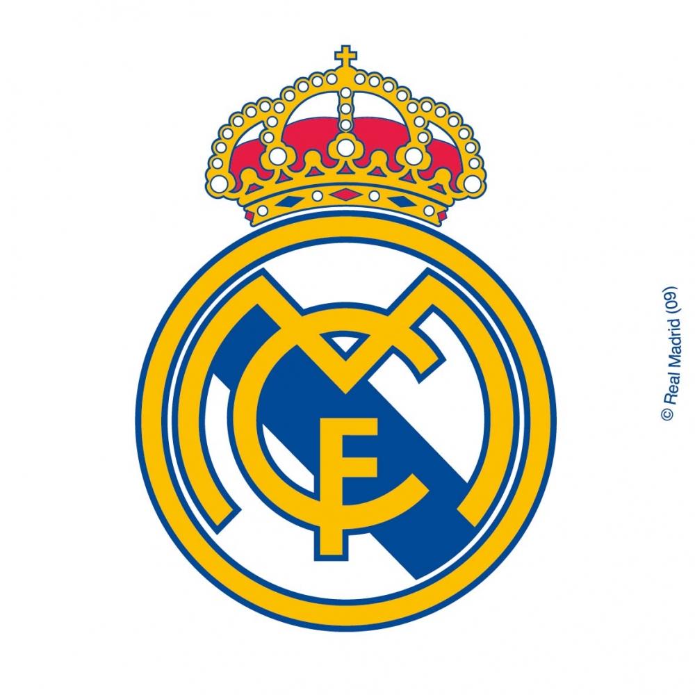Coloriage Ecusson Real Madrid A Imprimer