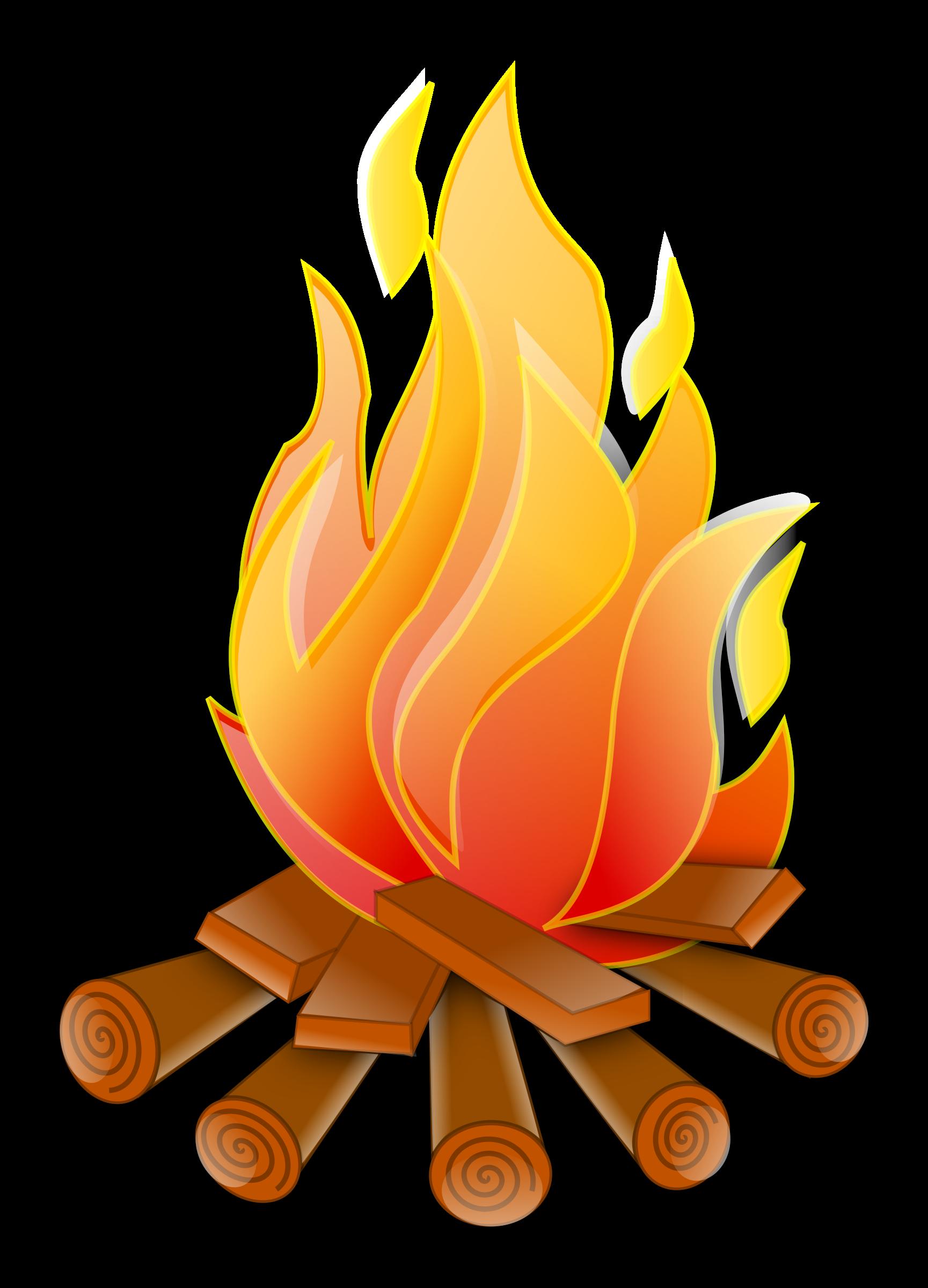 Coloriage Incendie à Imprimer