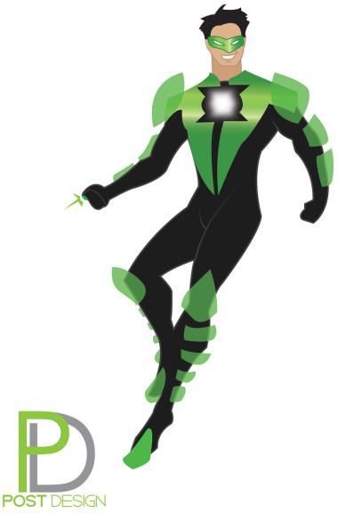 Green Lantern dessin