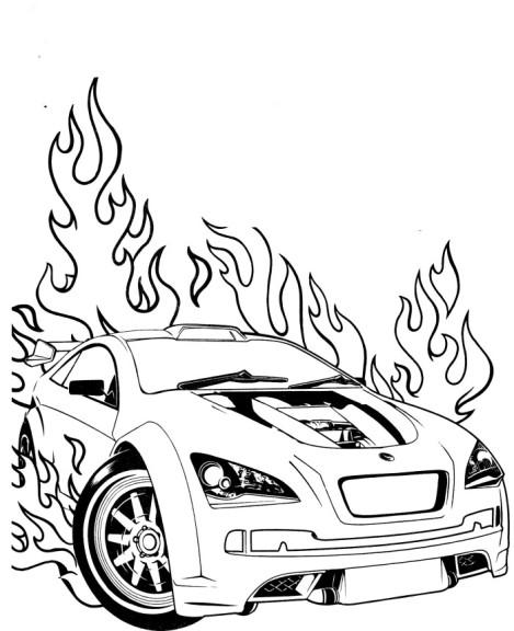Hot Wheels dessin