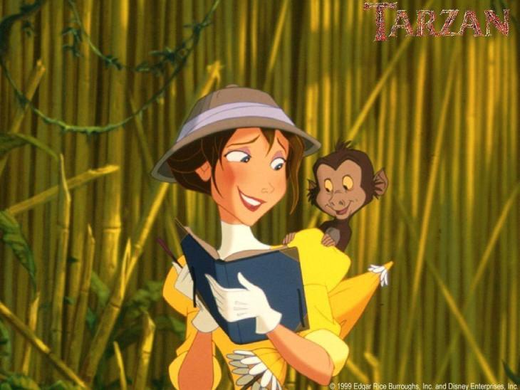 Jane et un singe