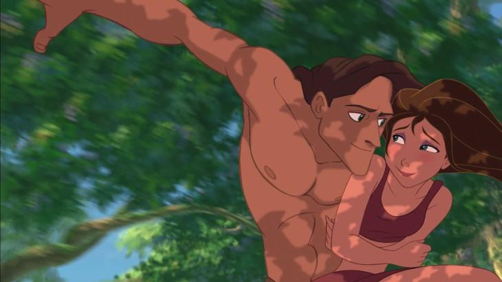 Jane Tarzan à la jungle