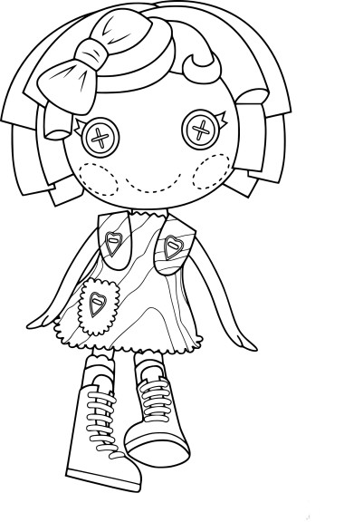 Coloring Pages Lalaloopsy Dolls