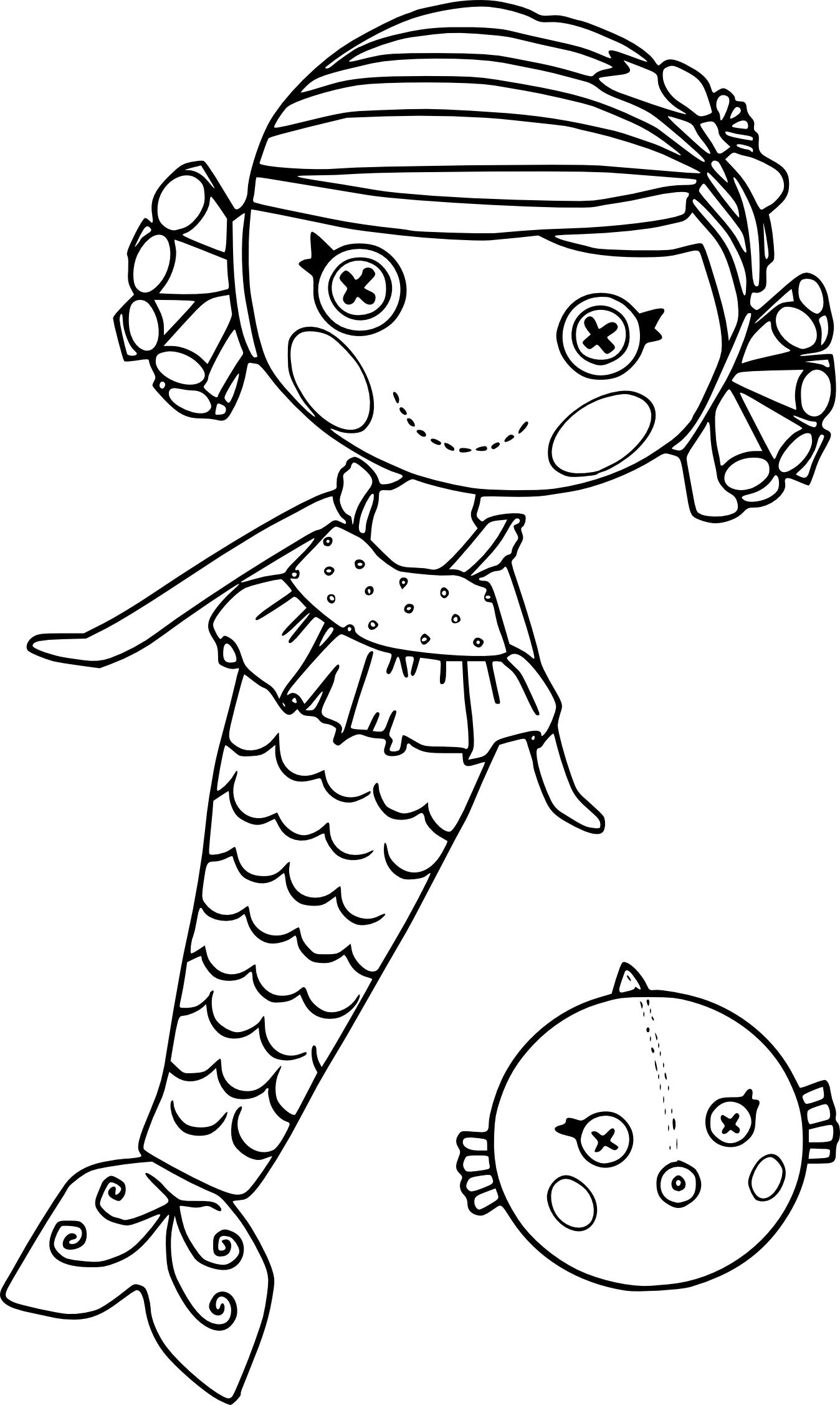 Coloriage lalaloopsy et dessin imprimer - Des dessins a imprimer ...