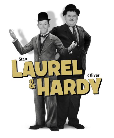 Coloriage Laurel et Ha...