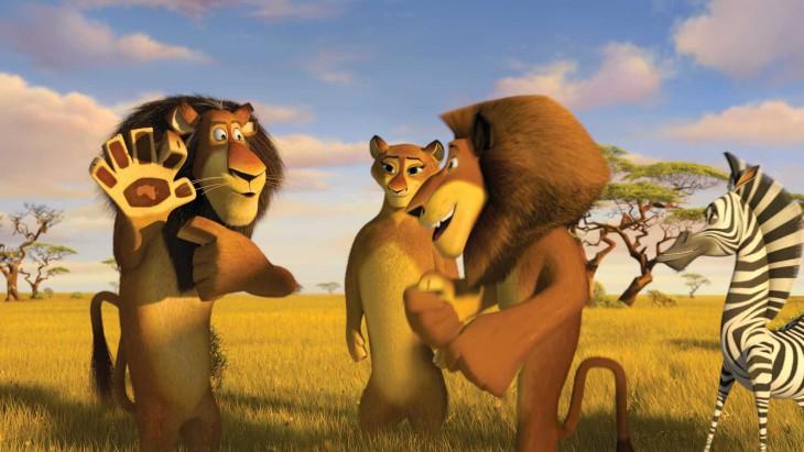 Madagascar Alex le lion