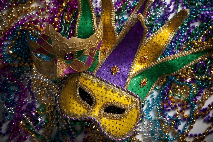 Mardi Gras masque