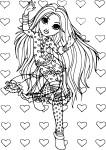 Moxie Girlz coloriage