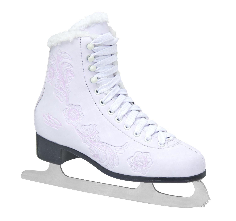 Fille de patins à glace