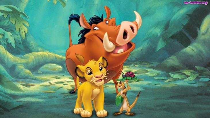 Pumba Simba Timon
