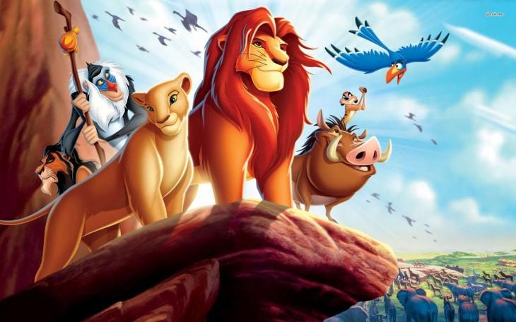 Roi Lion Pumbaa Zazu Timon