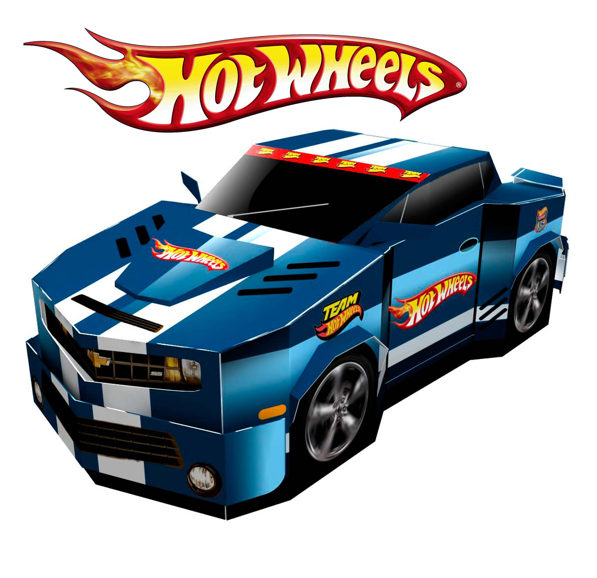 Beau Dessin Coloriage Voitures Hot Wheels