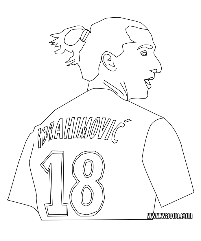 Zlatan Ibrahimovic dessin